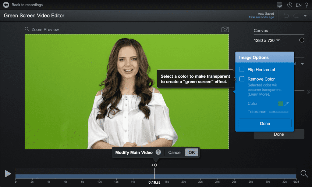 Green Screen - Add an Overlay and Layer
