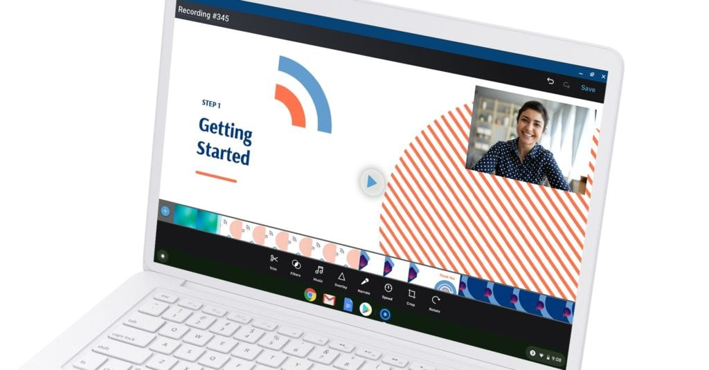 Chromebook editing tools