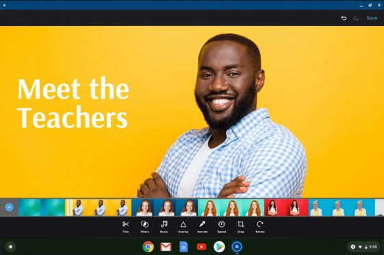record your chromebook
