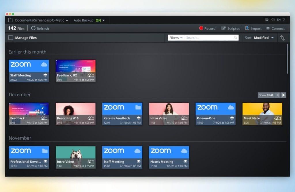 Edit Zoom meetings