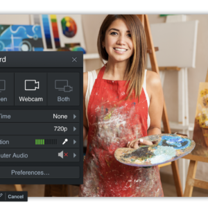 creative videos with hybrid learning